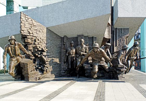 Warsaw Uprising Monument Warsaw Poland Atlas Obscura