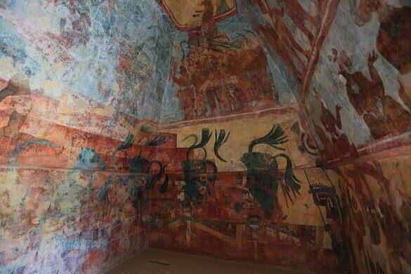 Murals of Bonampak