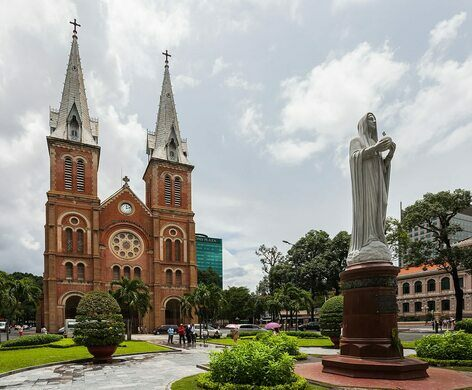 Notre-Dame Cathedral Basilica of Saigon – Ho Chi Minh City, Vietnam