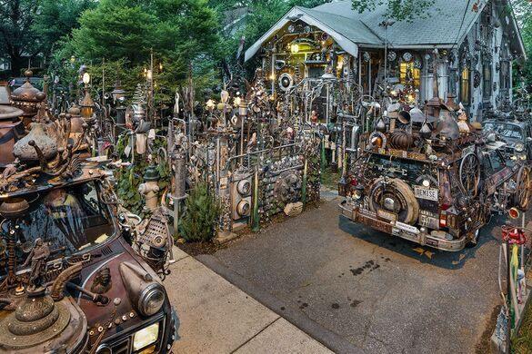 Junk My Car Near Me >> Vanadu Art House – Hyattsville, Maryland - Atlas Obscura