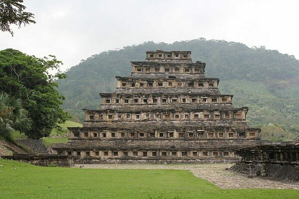 Pyramid of the Niches in Mexico