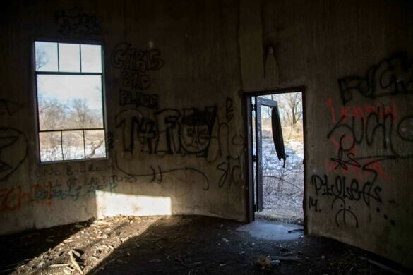 inside abandoned builiding the area and buildings are officially offlimits kyleensrude atlas obscura user used with permission