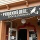 Entrance to the Museum is through Paranormal Books & Curiosities