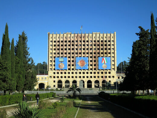 Abandoned Council of Ministries Building – Sukhumi, Georgia