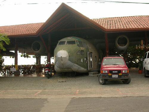 El Avion Restaurant and Bar – Quepos, Costa Rica - Atlas Obscura on airplane house ghana, airplane house costa rica, airplane house interior, airplane house oregon,