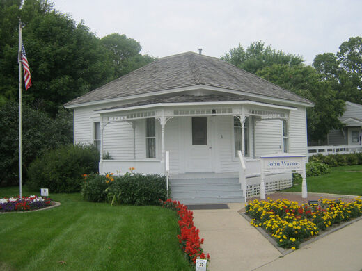 John Waynes Birthplace Winterset Iowa