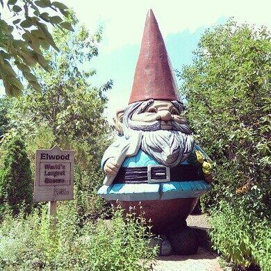 Elwood, the World's Tallest Concrete Gnome – Ames, Iowa