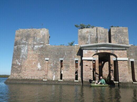 Fort Proctor St Bernard Parish Louisiana Atlas Obscura