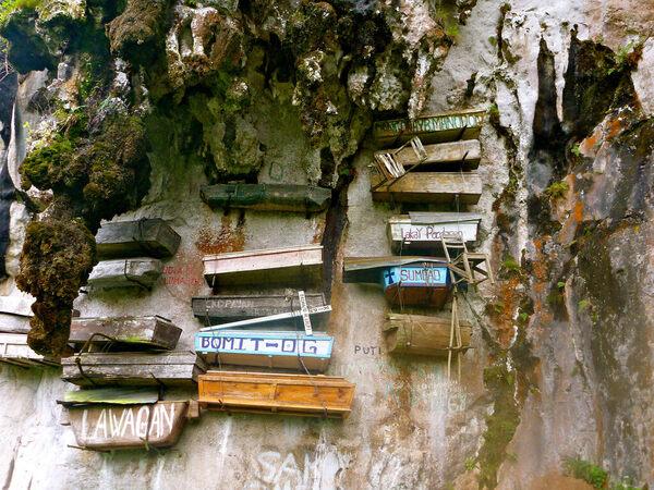 Hanging Coffins of Sagada – Sagada, Philippines - Atlas Obscura