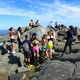Mount Monadnock, typically crowded.