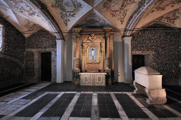 Portugal S Chapel Of Bones 201 Vora Portugal Atlas Obscura