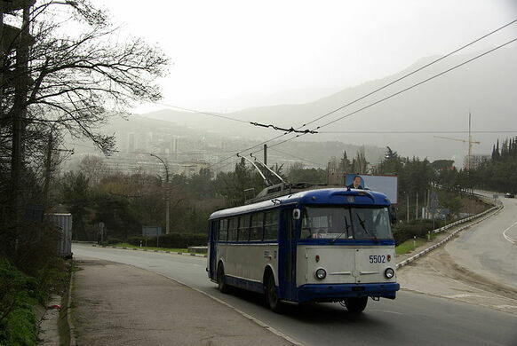 Crimean Trolleybus Line – Simferopol, Crimea - Atlas Obscura