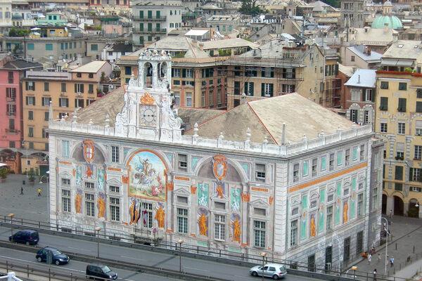 Palazzo San Giorgio in Genova, Italy