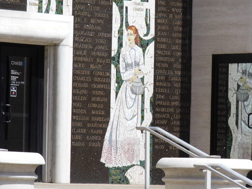 Chase Mosaic Movie Montages – Los Angeles, California - Atlas Obscura