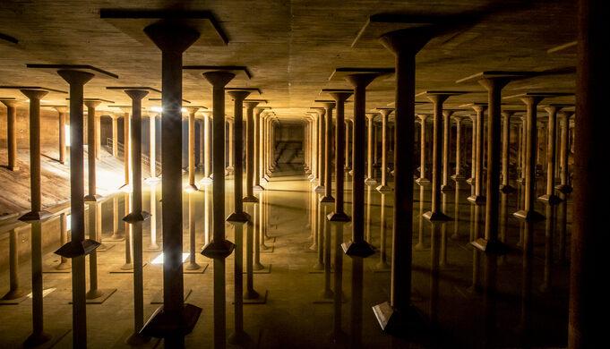 Buffalo Bayou Park Cistern – Houston, Texas - Atlas Obscura