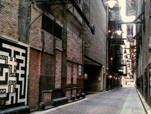Couch Place The Alley Of Death Chicago Illinois