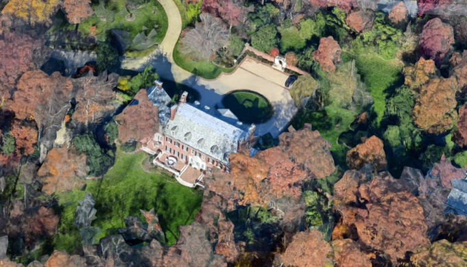 rockefeller mansion in rock creek park washington d c atlas