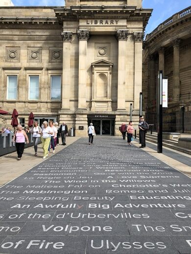 Liverpool Central Library Entrance Riddle – Liverpool