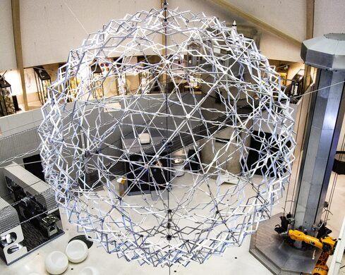 World's Largest Hoberman Sphere
