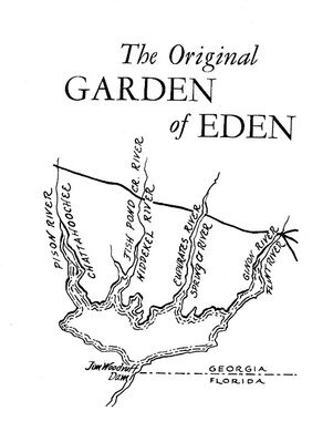 Garden of eden trail bristol florida atlas obscura from callaways 1971 book in the beginning elvy e callaway publicscrutiny Image collections