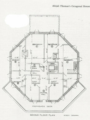 The octagon house marion virginia atlas obscura for Octagon house floor plans