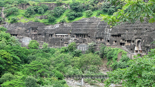 Ajanta caves ajanta india atlas obscura for Ajanta cuisine of india