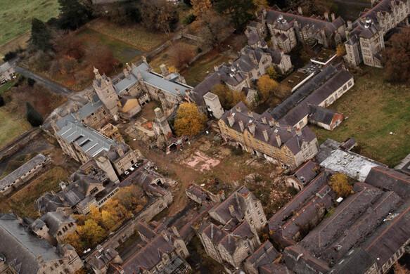 Abandoned Denbigh Insane Asylum Denbigh Wales Atlas