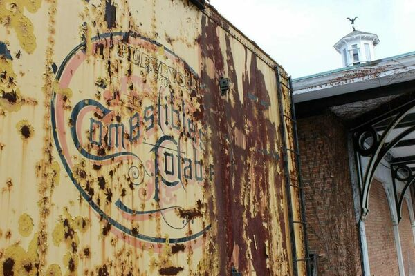 Italian Food Near Me Abandone Building Casa: Wilkes-Barre Abandoned Train Station