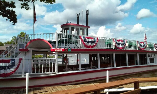 The Dixie Sternwheeler  in North Webster, Indiana