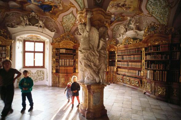 Baroque Library of Metten Abbey