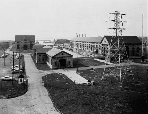 Edward Dean Adams Power Plant Niagara Falls New York