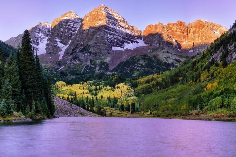 Maroon Bells Aspen Colorado Atlas Obscura
