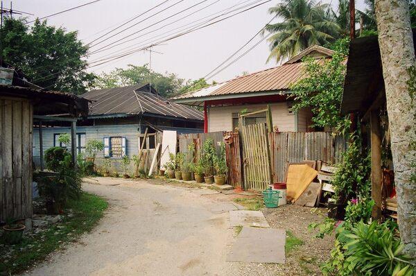 Kampong Lorong Buangkok in Singapore