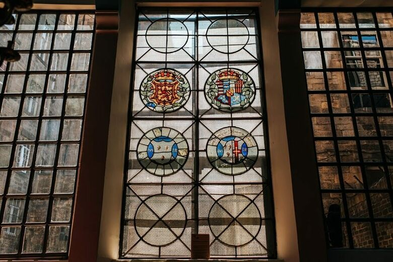 The Historic Stained Glass of Scotland's Magdalen Chapel