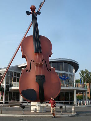 Worlds largest fiddle sydney nova scotia atlas obscura view all photos ccuart Image collections