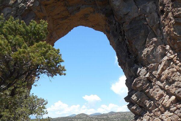 La Ventaña Arch in Del Norte, Colorado
