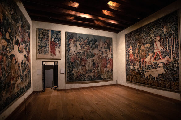 Unicorn Tapestries At The Cloisters New York New York