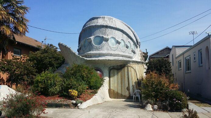 Fish Shaped House Berkeley California Atlas Obscura