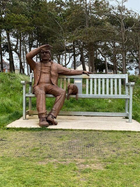 'Big Fella' in Silloth, England