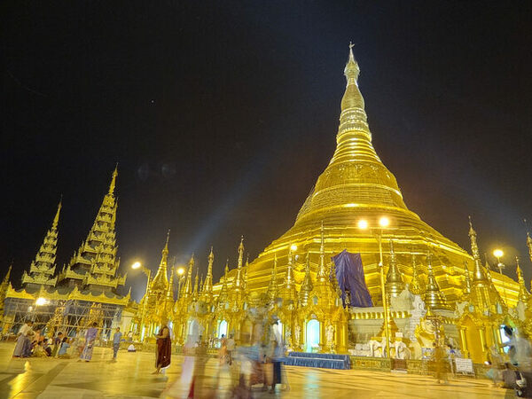 shwedagon pagoda yangon myanmar burma atlas obscura