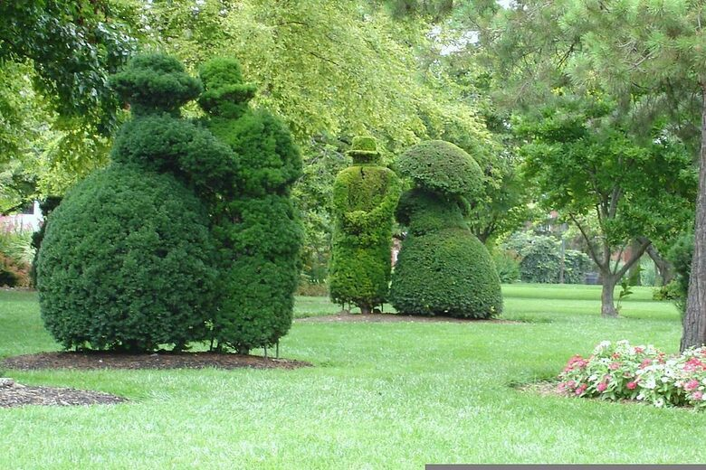 The Topiary Park Columbus Ohio Atlas Obscura