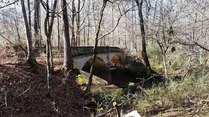 Abandoned Luten Arch Bridge