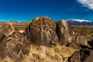 Three Rivers Petroglyph Site.