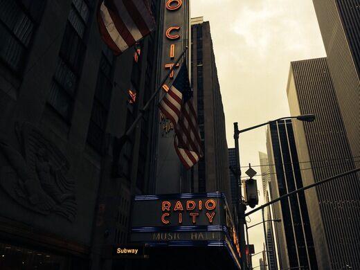 Radio city music hall luke j spencer