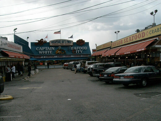 Maine avenue fish market washington d c gastro obscura for Maine fish market
