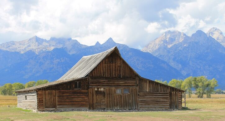 Is This Most Photographed Sign In >> T A Moulton Barn Moose Wyoming Atlas Obscura