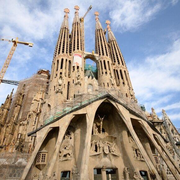 Sagrada Familia Barcelona Spain Atlas Obscura