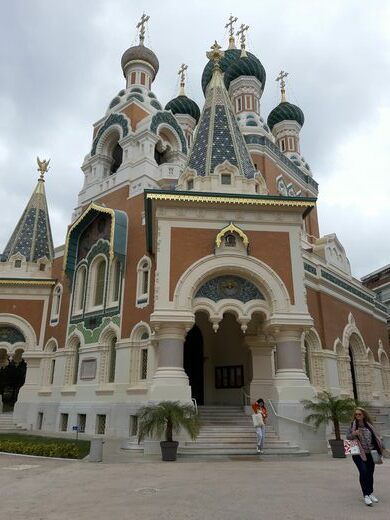 St  Nicholas Russian Orthodox Cathedral – Nice, France