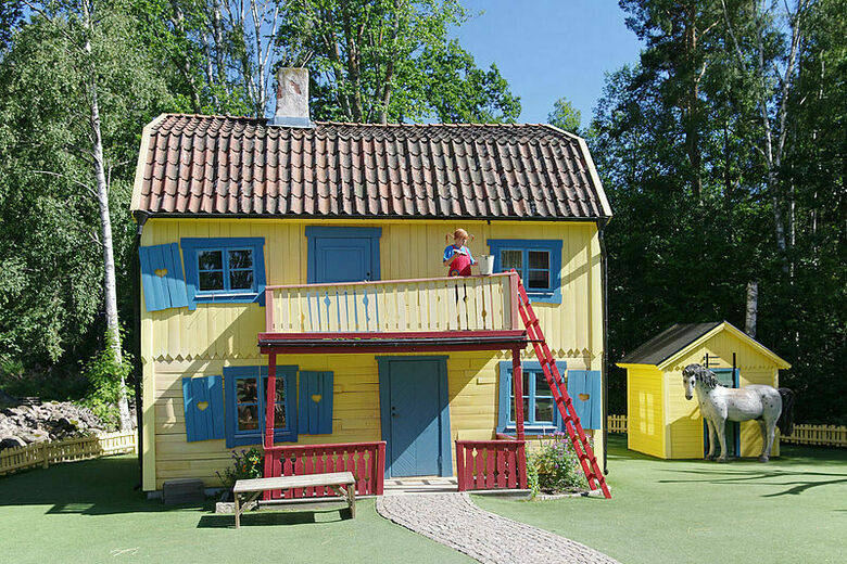 Pippi Longstocking's House