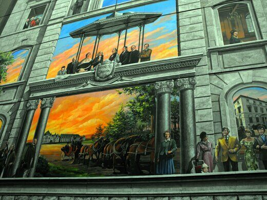 The Murals Of Quebec City Quebec City Quebec Atlas Obscura